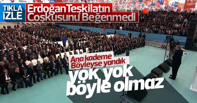 Erdoğan Ana kademeyi beğenmedi