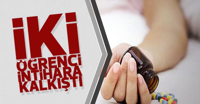 Karaman'da 2 öğrenci intihara kalkıştı