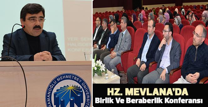 Hz. Mevlana'da Birlik Ve Beraberlik Konferansı