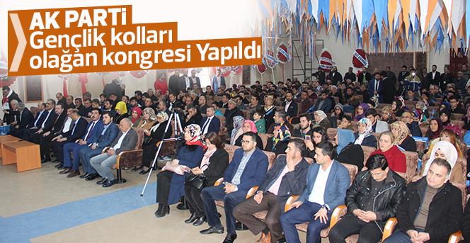 Ak Parti Gençlik kolları  olağan kongresi Yapıldı