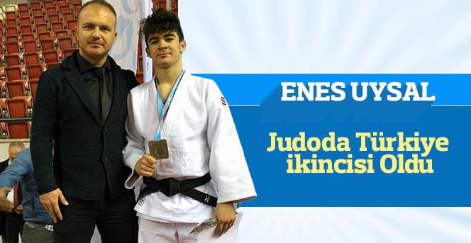 Judocu Enes Uysal Türkiye İkincisi Oldu