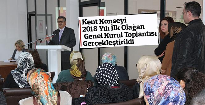 Kent Konseyi  Olağan Genel Kurul Toplantısı Gerçekleştirildi