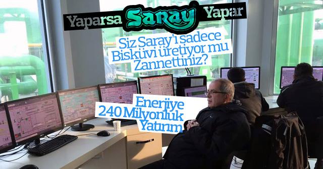 Saray Holdingden Enerjiye 240 Milyon luk yatırım