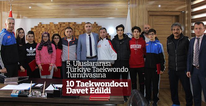 Karamanlı Taekwondoculara Milli Görev