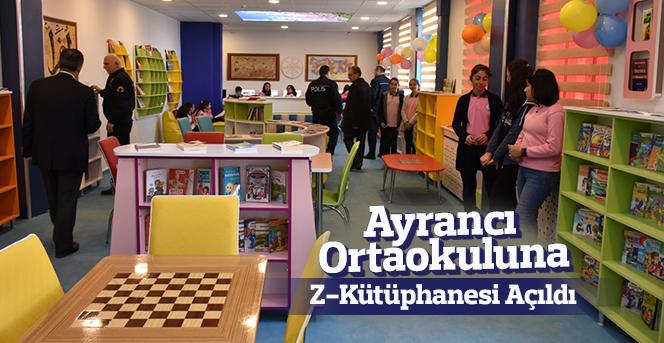 Ayrancı'daki Öğrenciler Z-Kütüphane ile Tanıştı