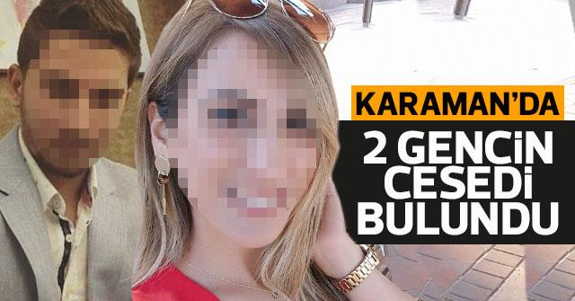 Karaman'da 2 gencin ceseti bulundu