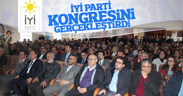 İyi Parti Karaman il kongresi gerçekleşti