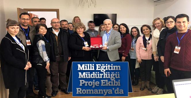 Karaman Milli Eğitim Müdürlüğü Proje Ekibi Romanya'da