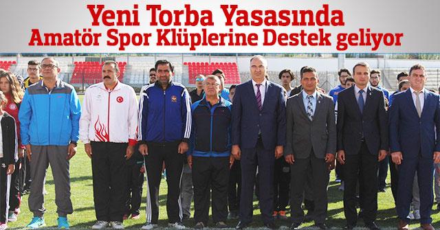 2018 Yeni Torba Yasasında Amatör Spora destek geliyor.