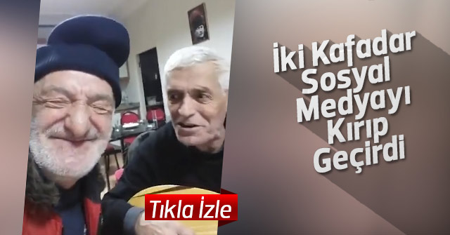 İki kafadarın şarkısı sosyal medyayı kırdı