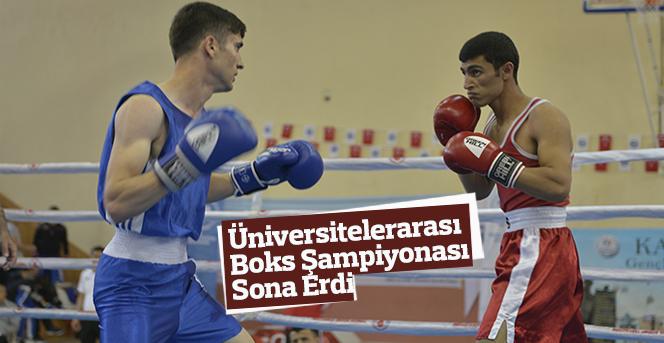 Üniversitelerarası Boks Şampiyonası Sona Erdi