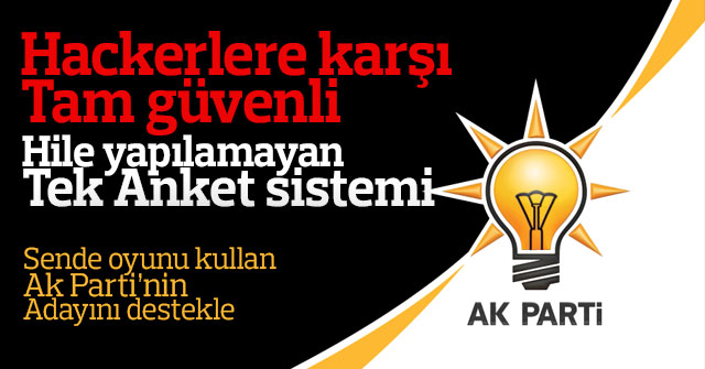 AK Parti'den kimlerin aday olmasını istersiniz?