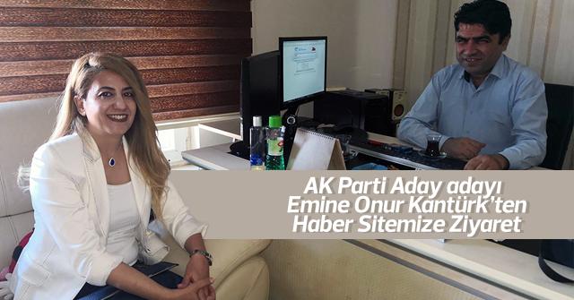 Emine Onur Kantürk'ten haber sitemize ziyaret