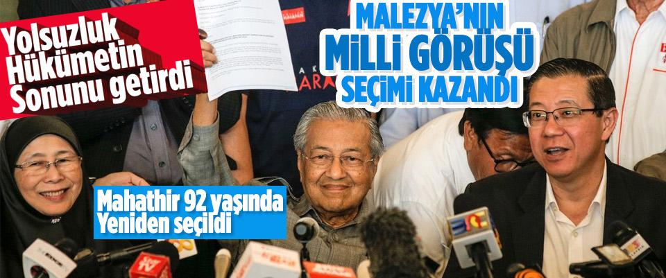 Malezya'nın Milli Görüş'ü seçimleri kazandı