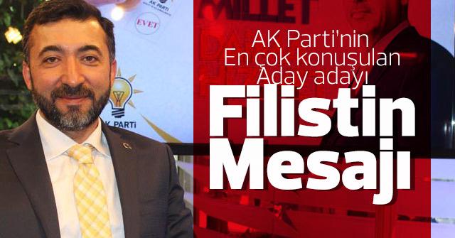 Erdal Türk'ten Filistin mesajı