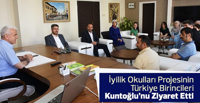 Türkiye Birincilerinden Kuntoğlu'na Ziyaret