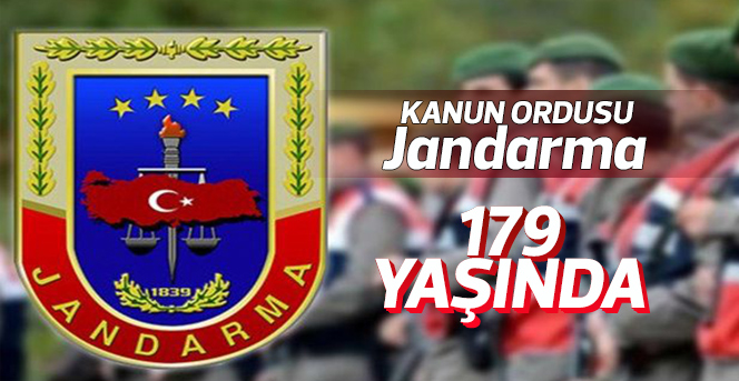 Jandarma 179 Yaşında