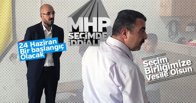 MHP Teşkilatı çalışmalara devam ediyor.
