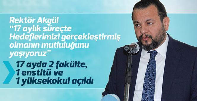 Rektör Akgül, Basın Mensupları İle Bir Araya Geldi