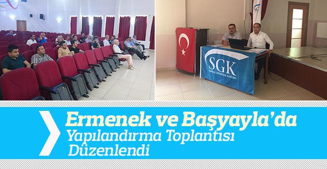 Karaman SGK Bilgilendirme Toplantısı Düzenlendi