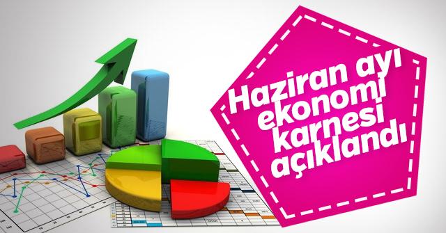 Haziran ayı ekonomi karnesi açıklandı