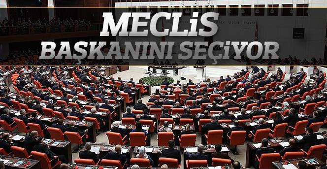 Meclis, başkanını seçiyor