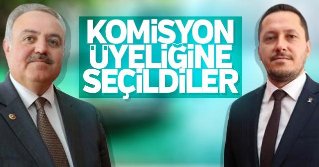 Recep Şeker ve Selman O. Eser komisyon üyesi oldular.