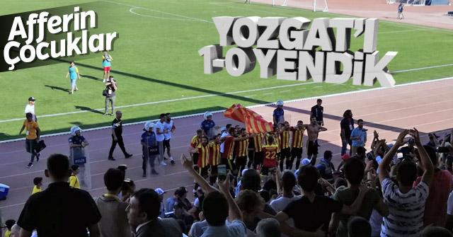 Karaman Belediyesi YozgatSpor'u 1-0 yendi