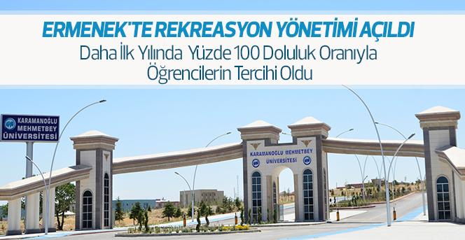Ermenek'te Rekreasyon Yönetimi Açıldı