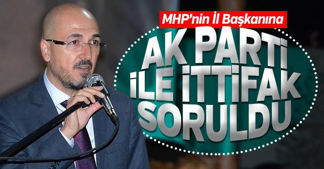Oktay Yılmaz'a AK Parti - MHP İttifakı soruldu