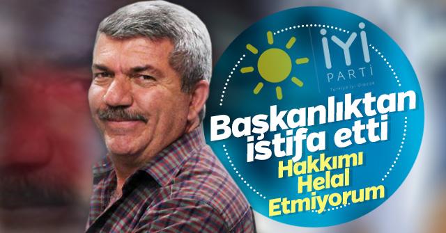 İYİ Parti Karaman Merkez ilçe Başkanı İstifa etti.
