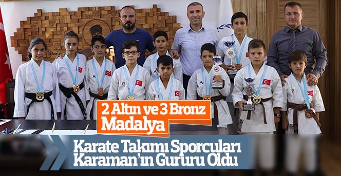 Karaman Karate Takımı Sporcuları Gururumuz Oldular