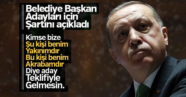 Erdoğan; Liyakat şartı arayacağız