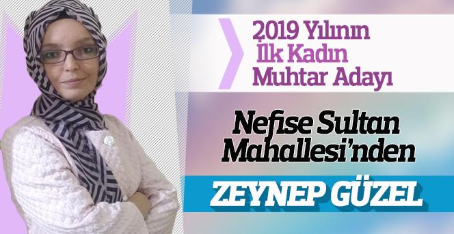 2019 Yılının İlk Muhtar Adayı