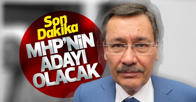 MHP'nin Ankara adayı: Melih Gökçek