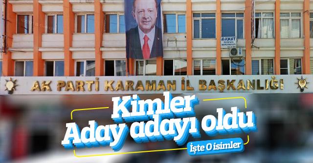 AK Parti'nin aday adayları başvurusu devam ediyor