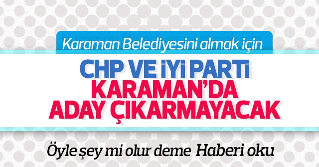 CHP ve İYİ Parti resmi aday çıkarmayacak