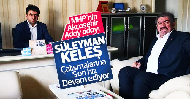 Süleyman Keleş'ten haber sitemize ziyaret