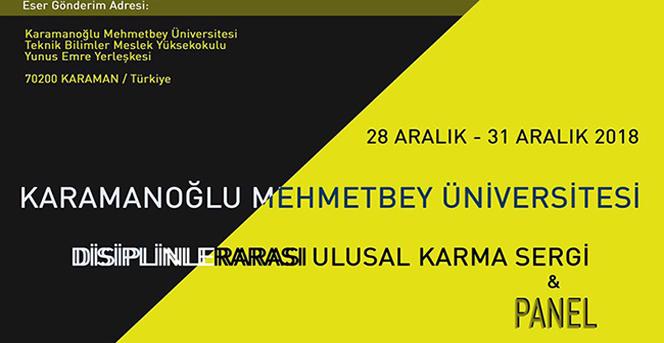 KMÜ'de Karma Sergi Düzenlenecek