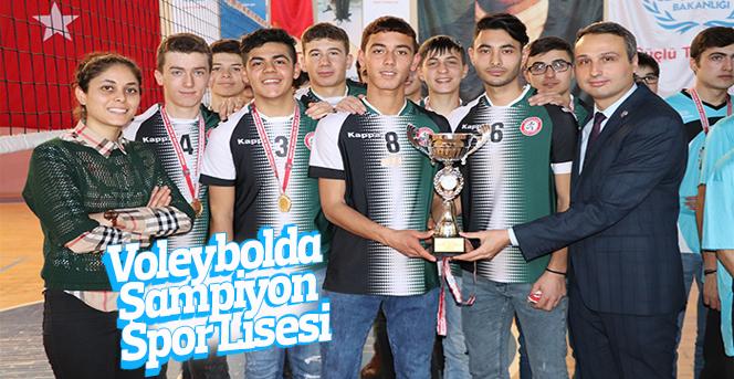 Voleybolda Şampiyon Spor Lisesi