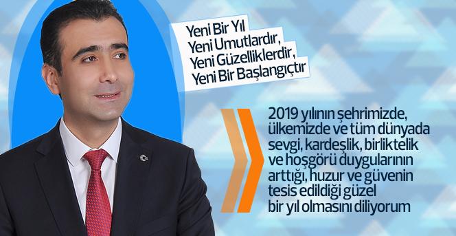Karaman Belediye Başkan Adayı Savaş Kalaycı'nın  yeni yıl mesajı