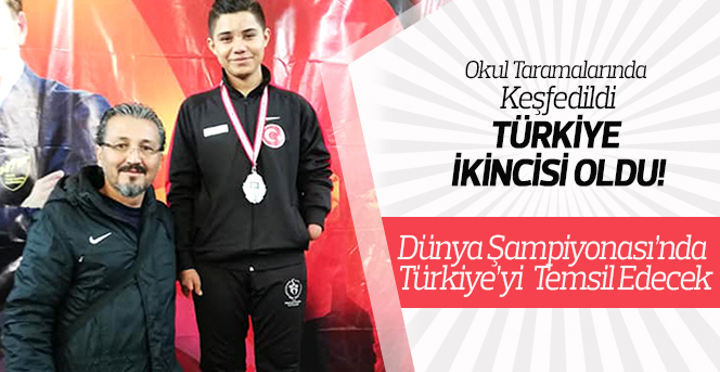 Okul Taramalarında Keşfedildi, Türkiye İkincisi Oldu!