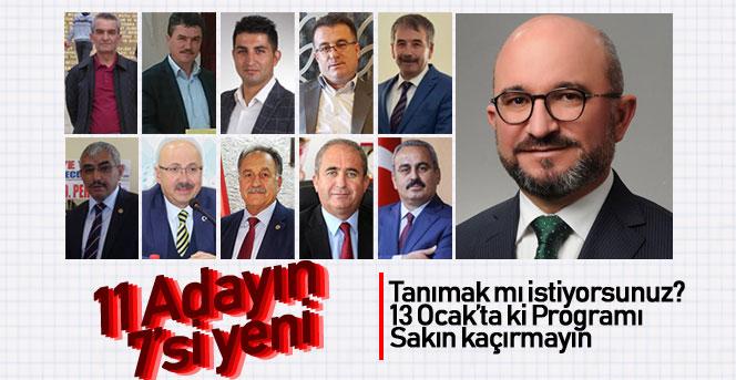 AK Parti'nin adayları belli oldu.