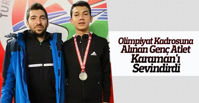 Feysel Nazari,Olimpiyat kadrosuna alındı