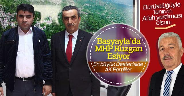 Başyayla'da MHP Rüzgârı esiyor