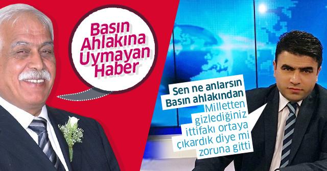 CHP İl Başkanı haberimizi inkar etti.