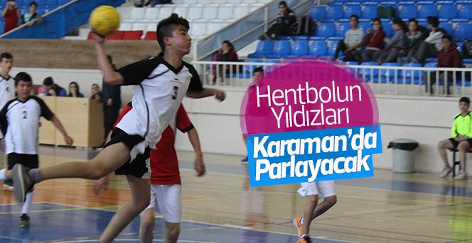 Hentbolun Yıldızları Karaman'da Parlayacak