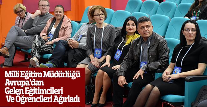Milli Eğitim Müdürlüğü, Avrupa'dan Gelen Eğitimcileri Ağırladı