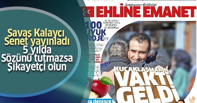 """20 Bin adet """"Ehline Emanet"""" Gazetesi Dağıtılıyor"""