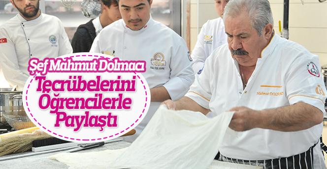 Şef Mahmut Dolmacı'dan Aşçı Adaylarına Tüyolar